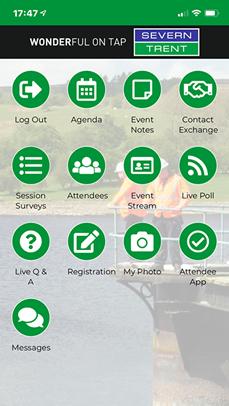 Event Delegate App Creation
