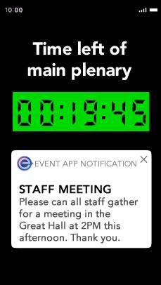 ereg Event Management Tools Timer