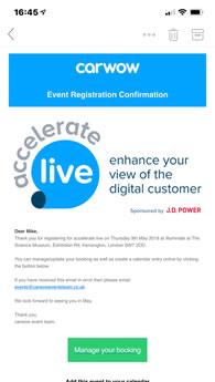 ereg registration confirmation email