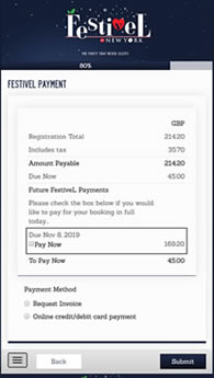 Online Payments for Events with ereg