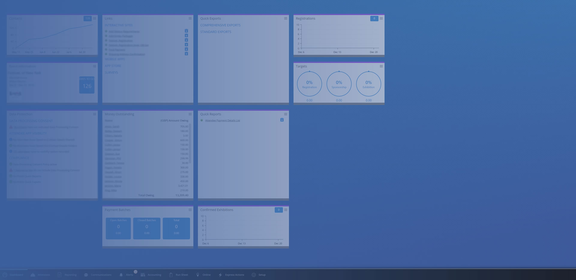 ereg example dashboard